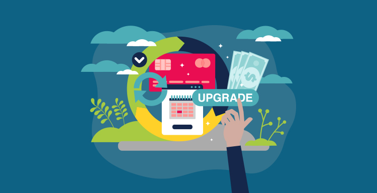 Make Monthly Giving an Upgrade!